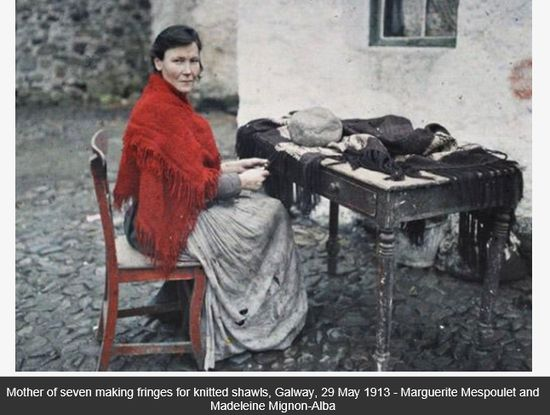 PHOTOS The First Ever Color Photographs Of Ireland Taken In 1913 A Slideshow