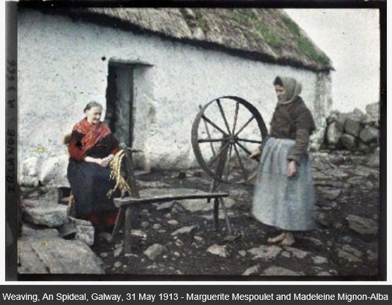 The First Ever Color Photographs Of Ireland Taken By Two French Women In 1913