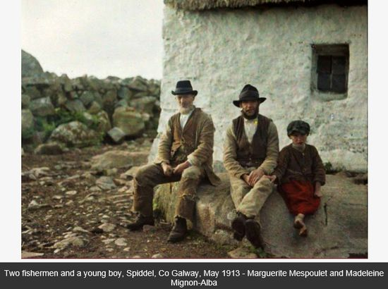 The First Ever Color Photographs Of Ireland Taken By Two French Women In 1913 Bernards